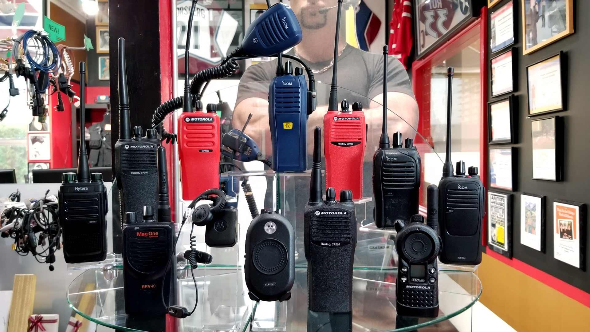 Mototola Two-Way Radio Rentals Vancouver – Alltypes